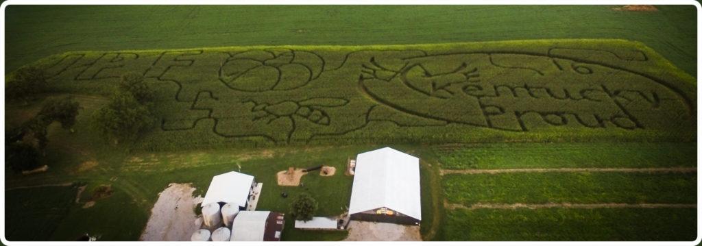 Corn Maze Bowling Green KY JPF