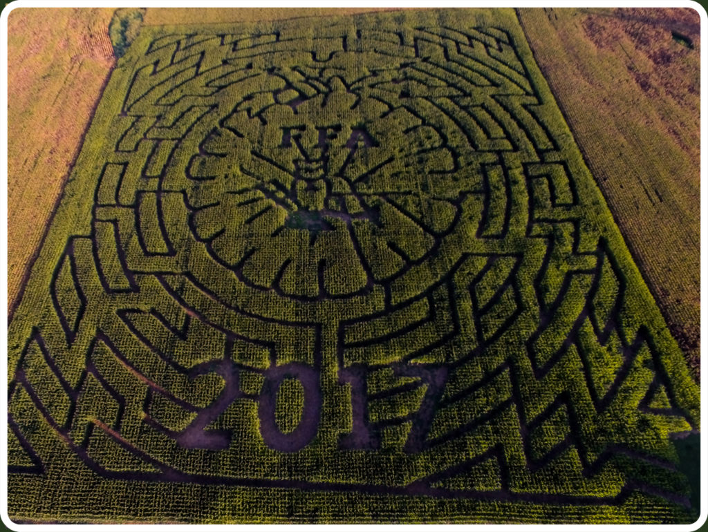 Just Piddlin Corn Maze 2017