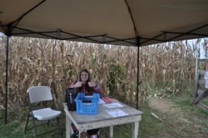 Natalie @ corn maze