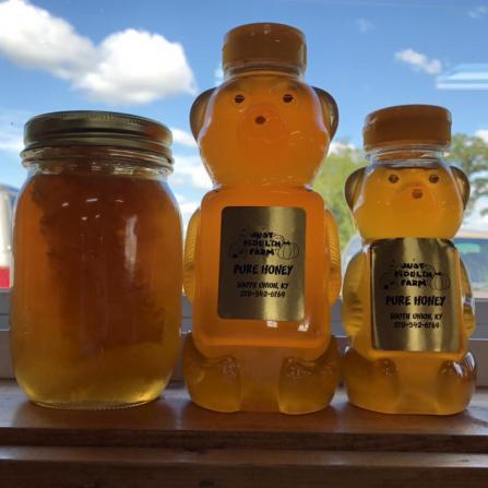honey in window